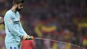 Pique Atletico Madrid Barcelona LaLiga.