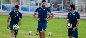 مران الزمالك - حمدي النقاز