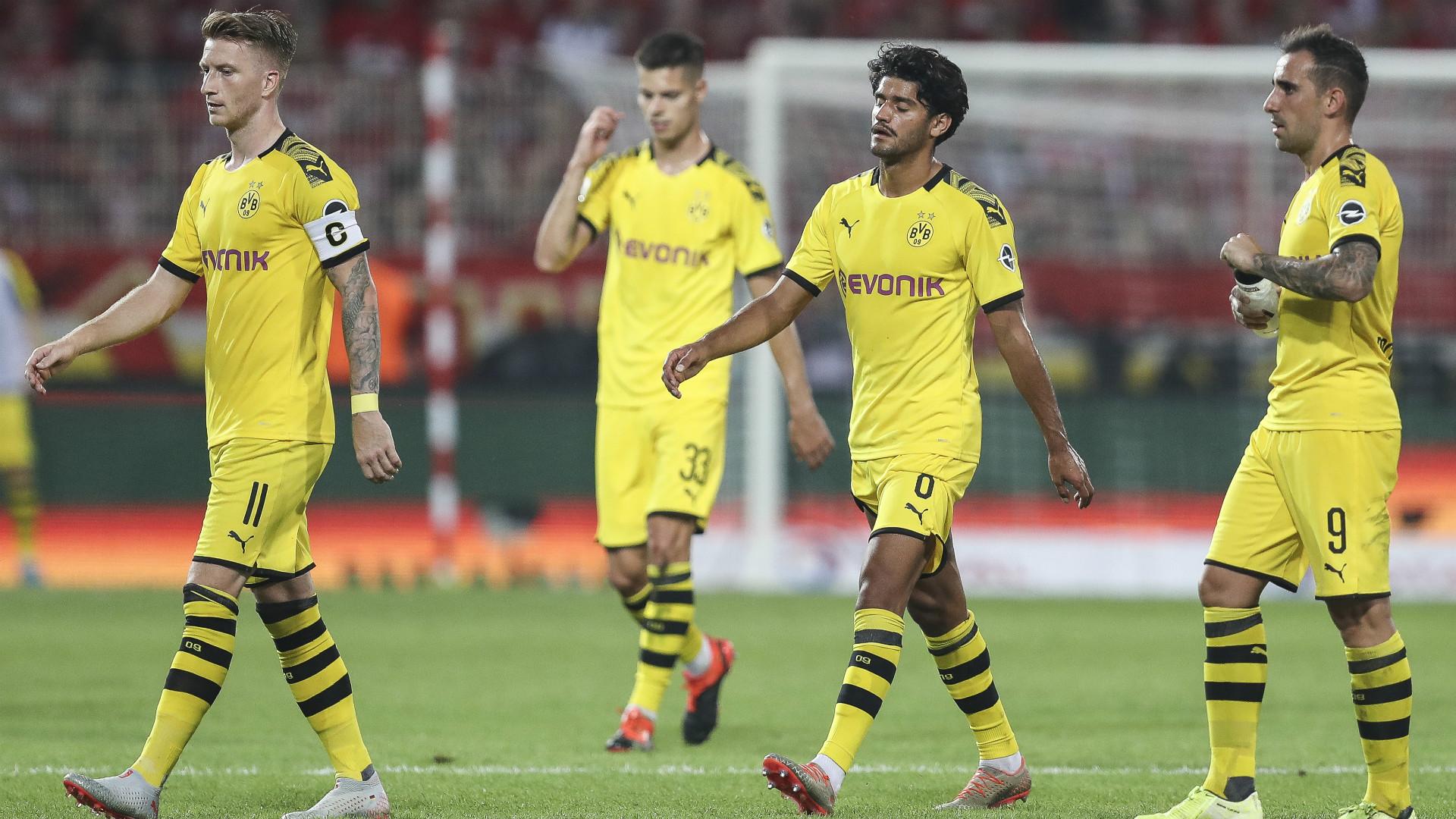 Marco Reus Julian Weigl Mahmood Dahoud Paco Alcacer Borussia Dortmund 2019