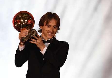 Ballon d'Or, Modric :