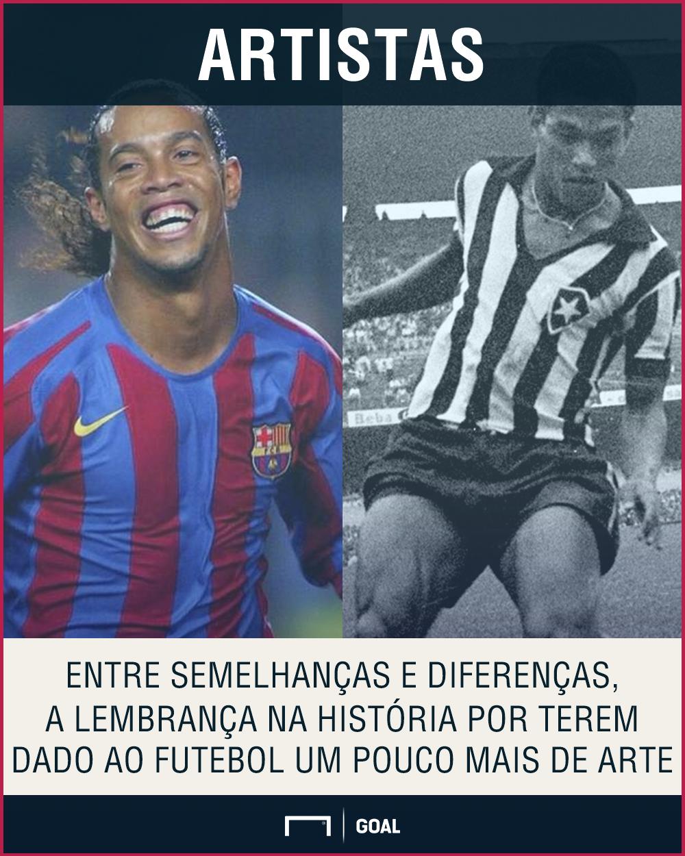 GFX Ronaldinho Garrincha