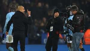 Pep Guardiola Manchester City Leicester City  Carabao Cup