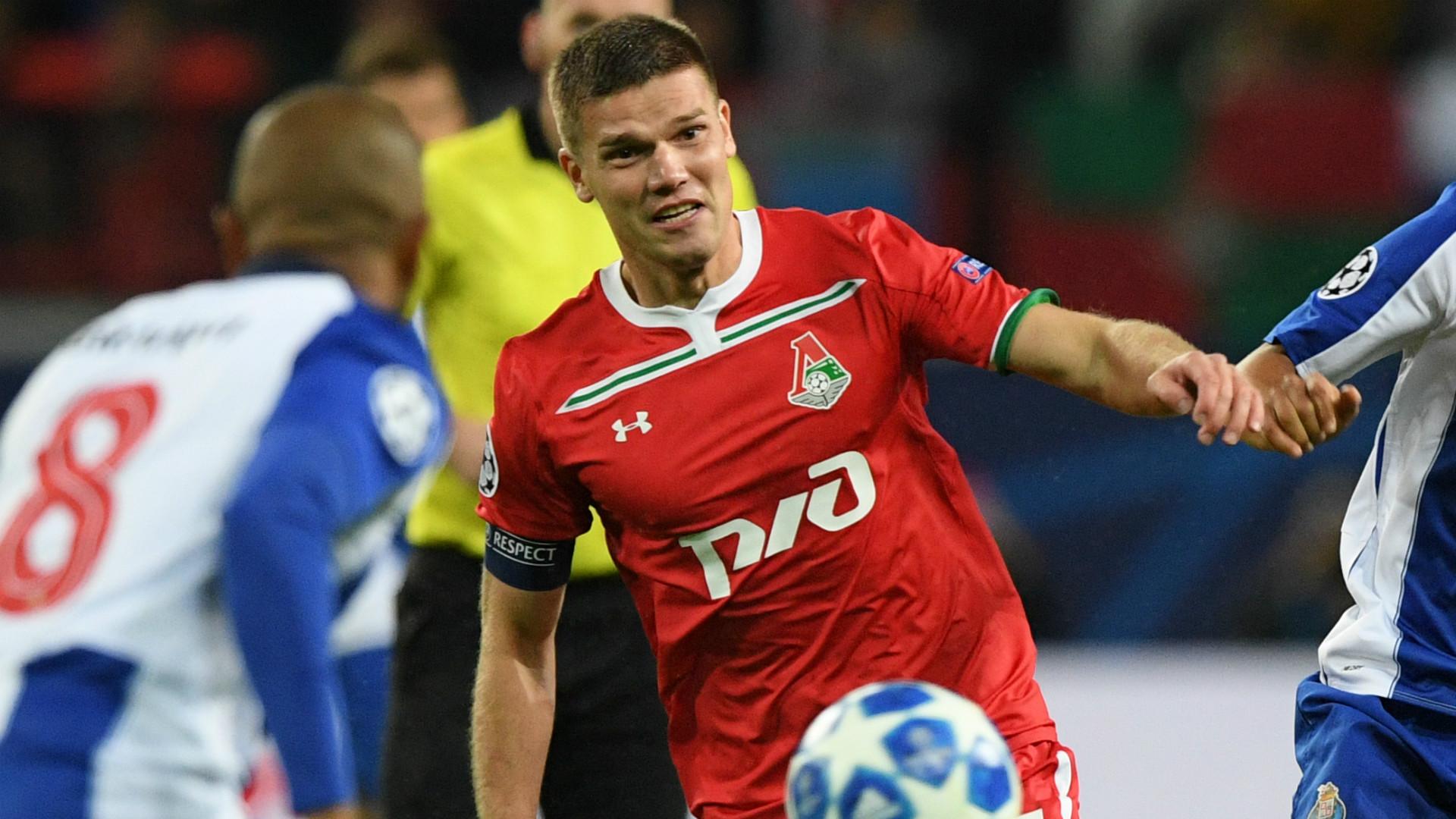Igor Denisov Lokomotiv Moscow 2018-19