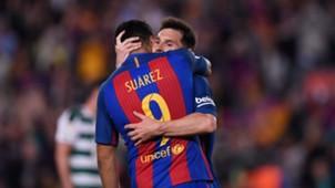 Lionel Messi Luis Suarez Barcelona Eibar LaLiga 21052017