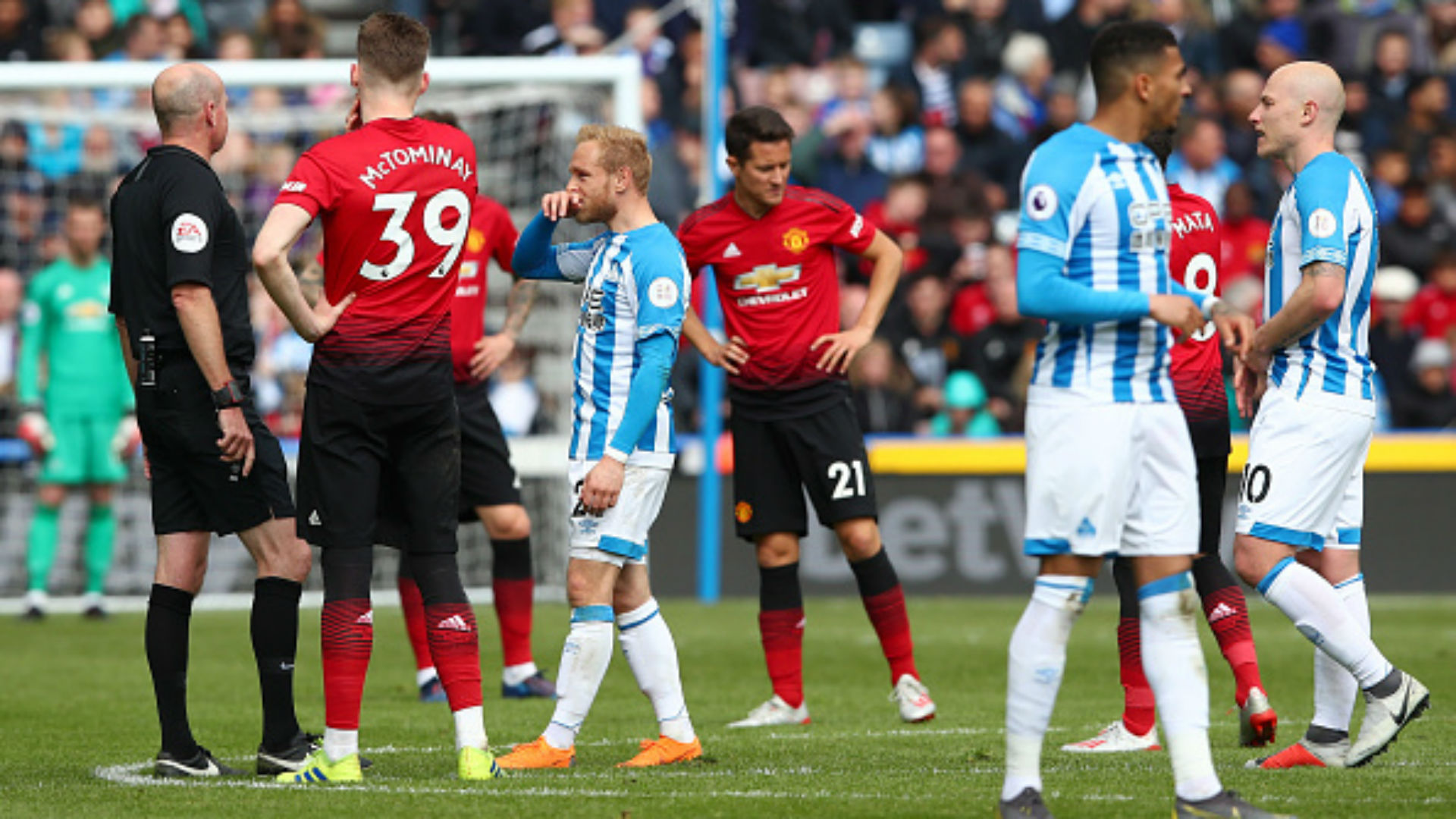 Huddersfield Town Manchester United Premier League