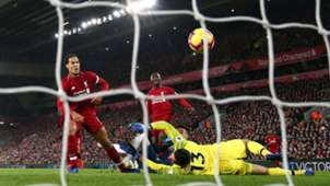 Jesse Lingard scores after Alisson's error Liverpool v Manchester Utd