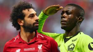 Mohamed Salah Nicolas Pepe Liverpool Juventus