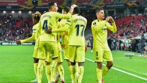 Spartak Moscú - Villarreal 04102018