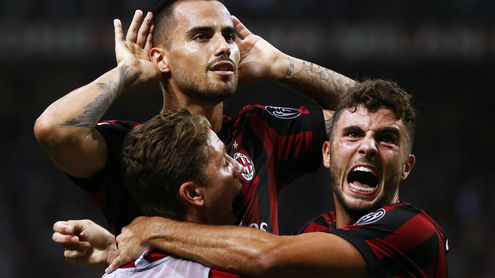 Cutrone Suso Milan Serie A