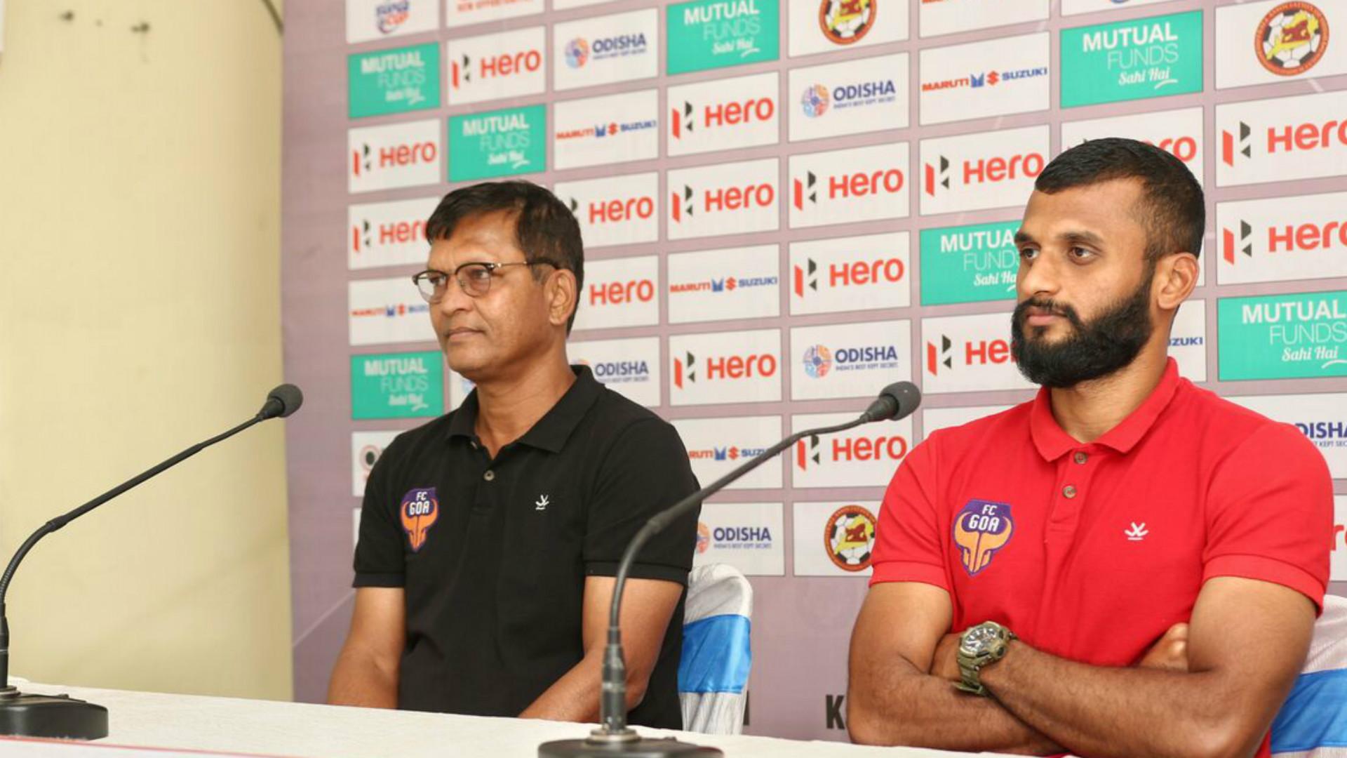 Derrick Pereira Pronay Halder FC Goa