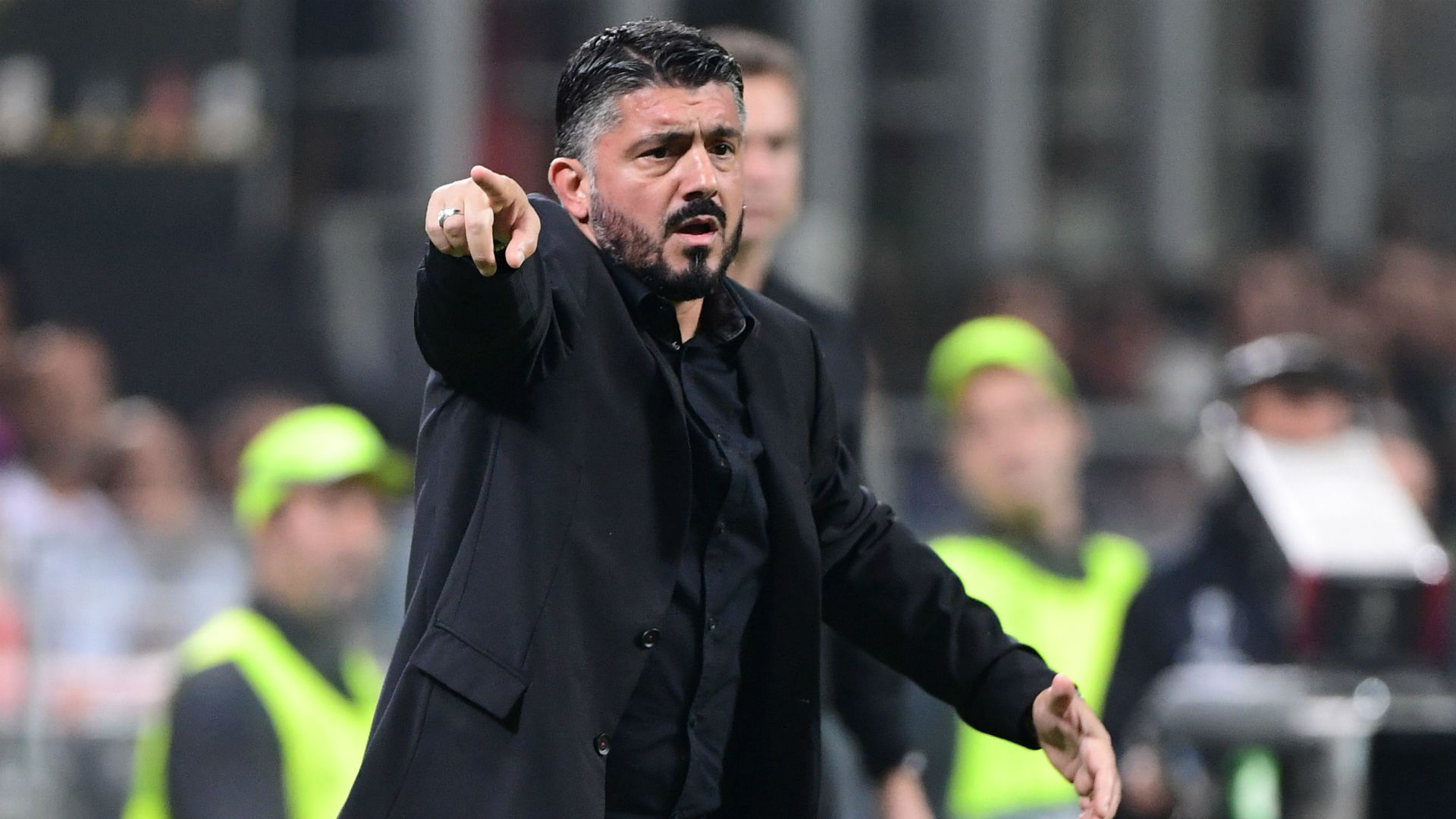 A day ago AC Milan coach Gattuso: Full strength line-up for Betis