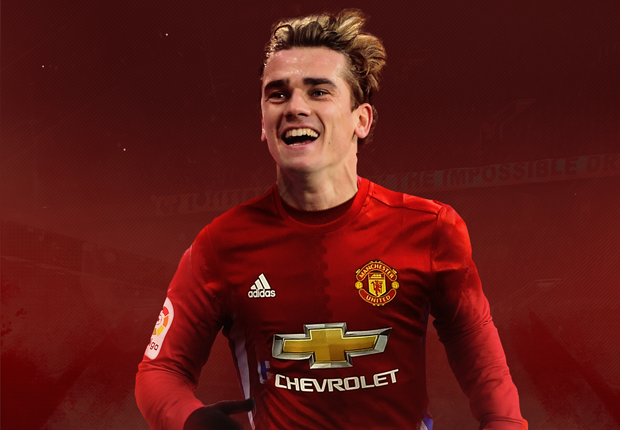 Manchester United target Antoine Griezmann &#39-happy at Atletico ...
