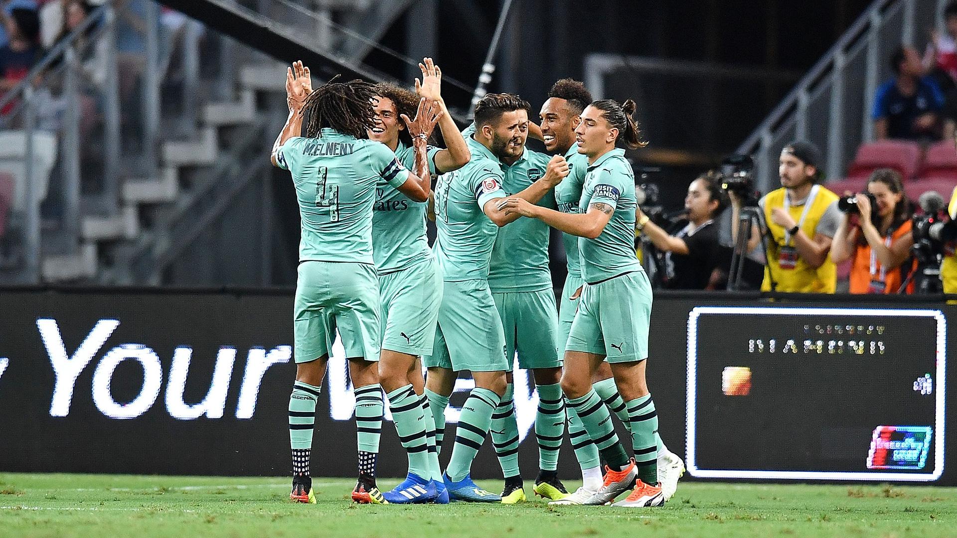 Arsenal PSG ICC 2018 28072018
