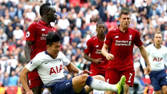 Sadio Mane Son Heung-Min Liverpool Tottenham