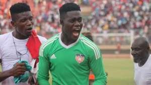 Ashley Williams: Liberia goalkeeper rewarded for his heroics against Sierra Leone