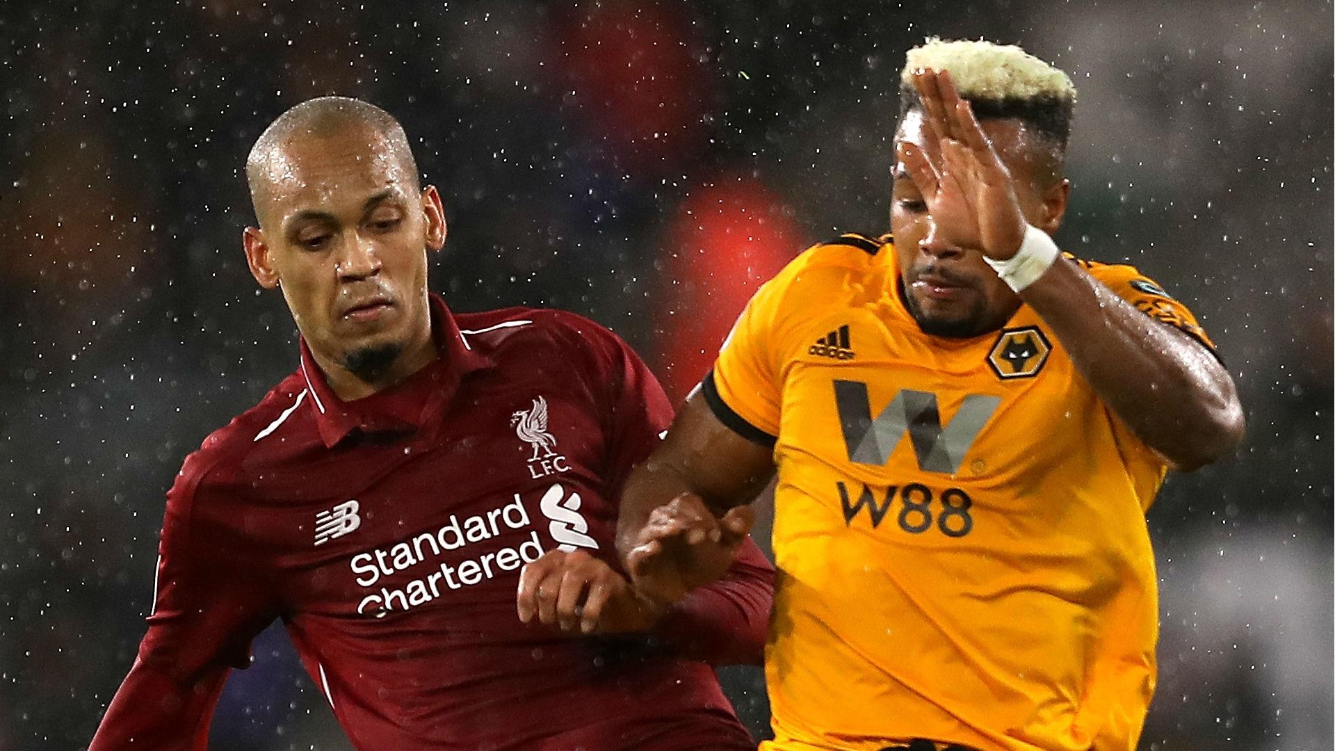 Fabinho Liverpool Wolves