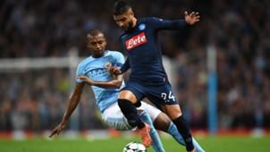 Lorenzo Insigne Manchester City Napoli Champions League