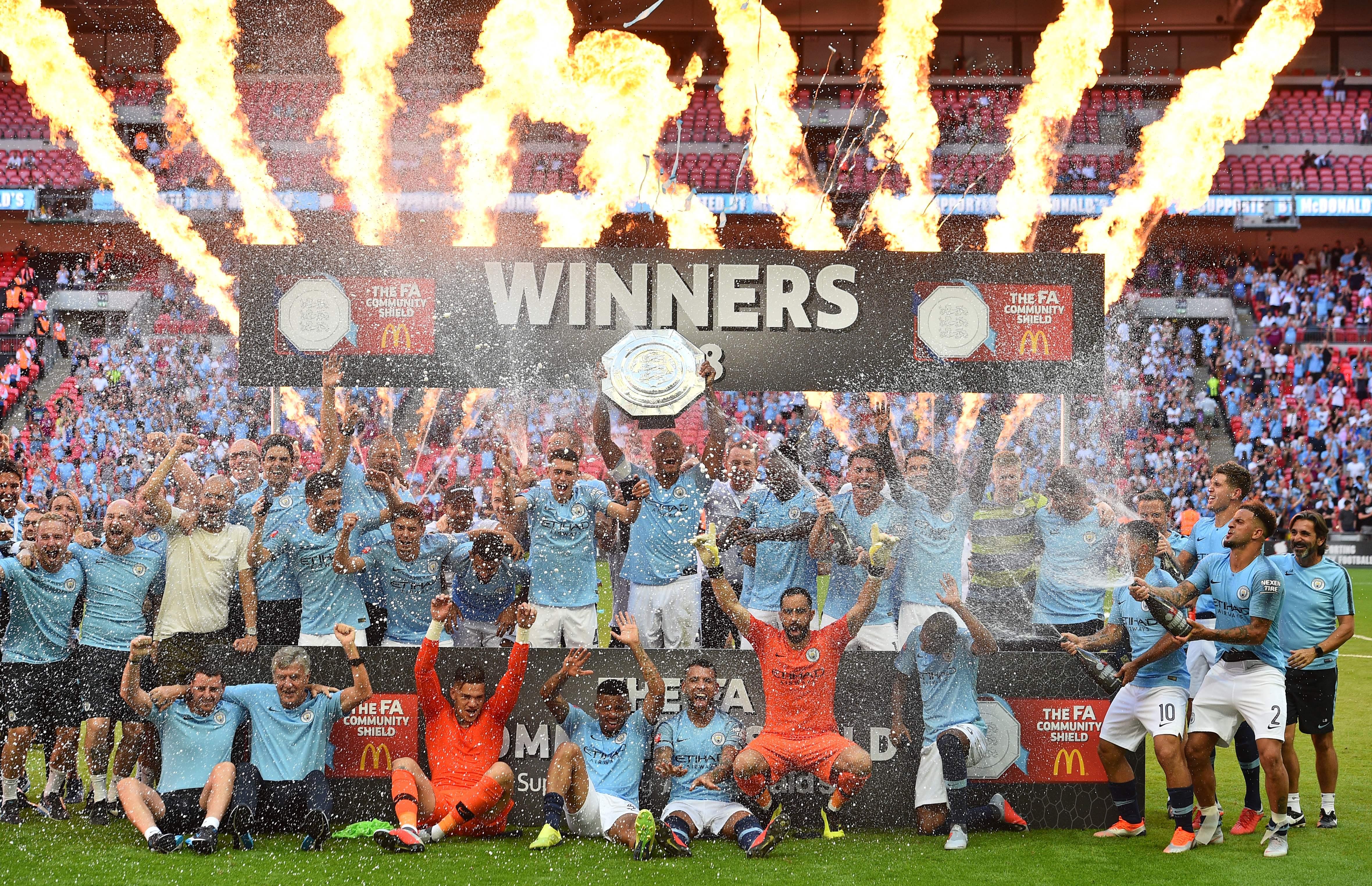 Chelsea Manchester City Community Shield 2018