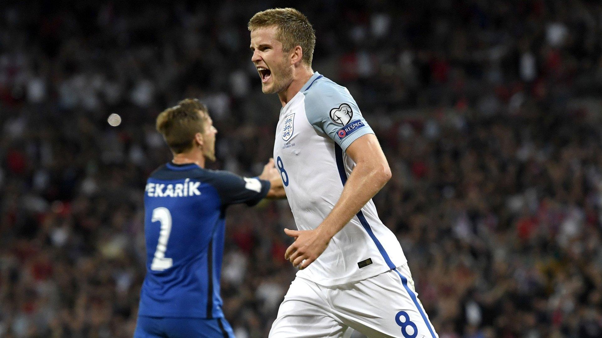 Eric Dier England Slovakia WCQ 09042017