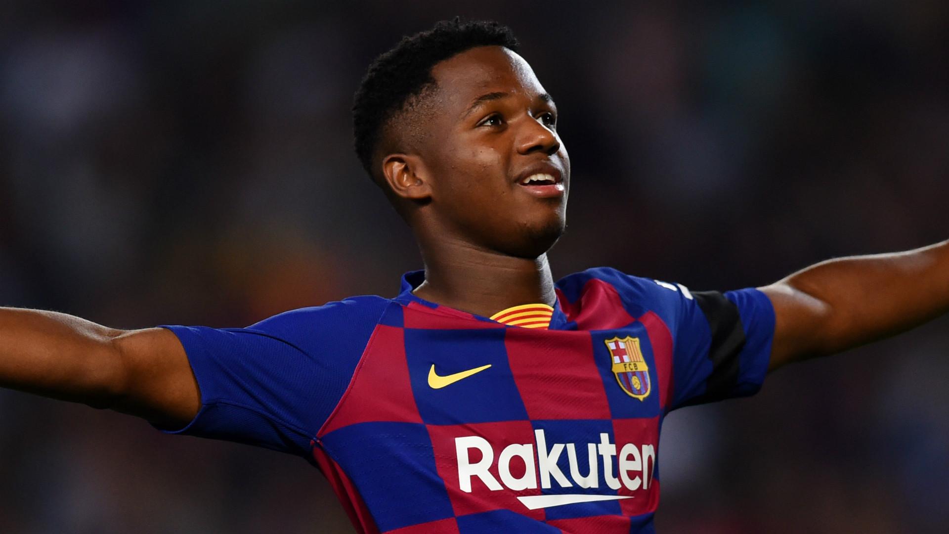 Wonderkid Fati: from African suburb to Barcelona's Camp Nou  |Ansu Fati