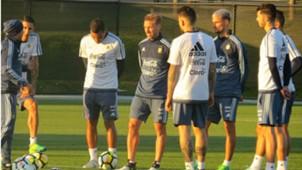 Argentina Training Australia Jorge Sampaoli 04062017