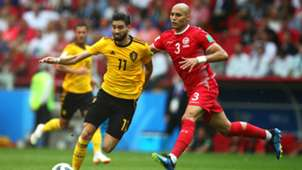 Yannick Carrasco Belgium Tunisia World Cup