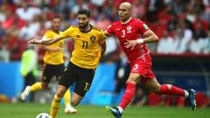 Yannick Carrasco Belgium Tunisia World Cup