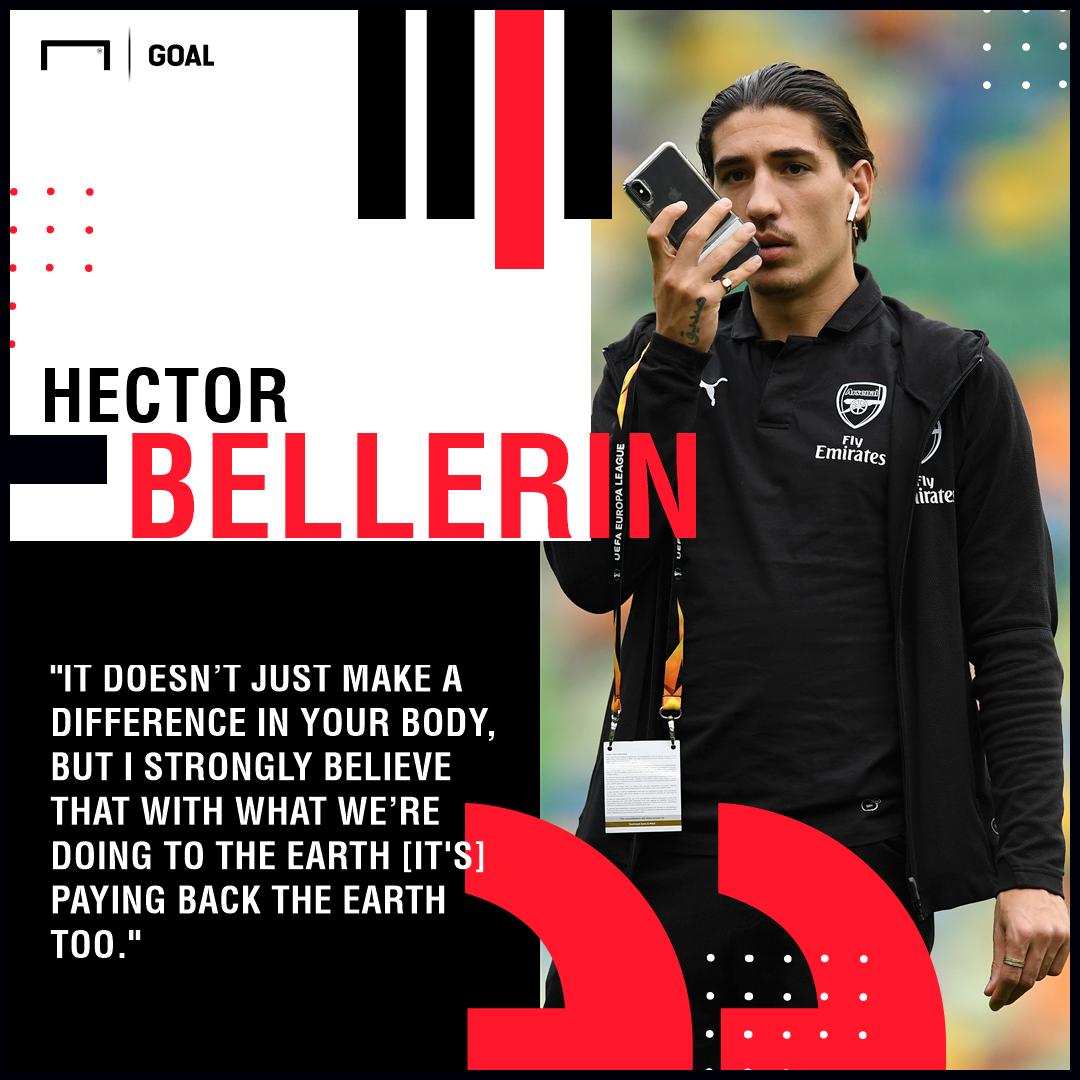 Hector Bellerin veganism