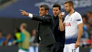 Ernesto Valverde Tottenham Barcelona UCL 03102018