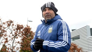 Jorge Sampaoli Argentina training 20032018