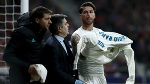Sergio Ramos Atletico Real Madrid derbi