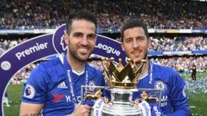 Cesc Fabregas Eden Hazard Chelsea