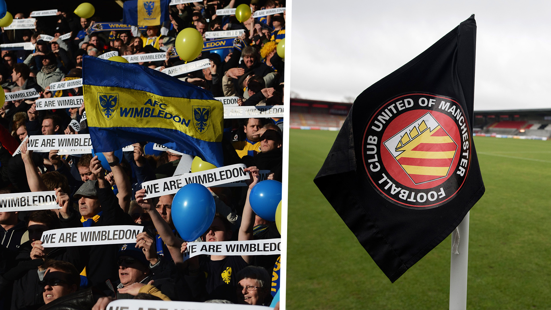 AFC Wimbledon FC United of Manchester