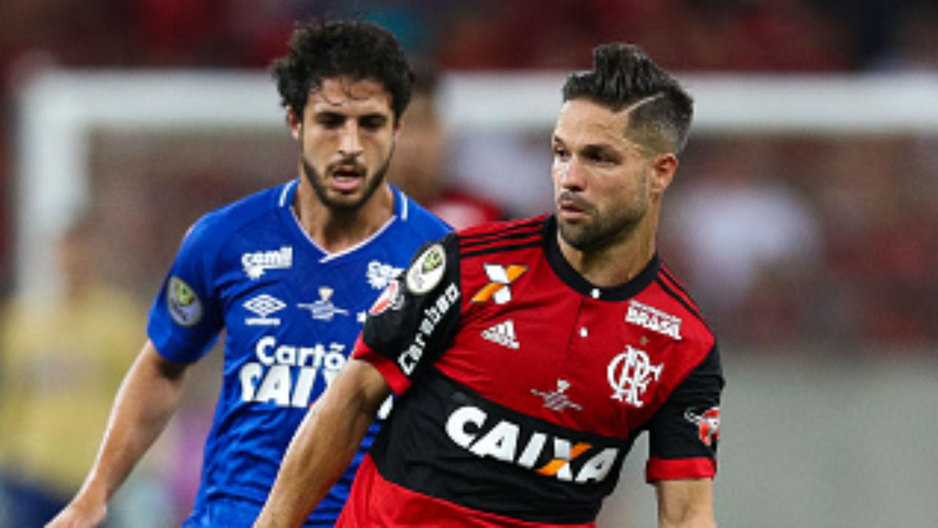 Hudson Diego Flamengo Cruzeiro Copa do Brasil 07 09 2017