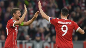 Thomas Muller Robert Lewandowski Bayern Munich