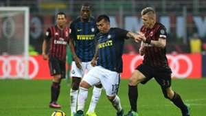 Gary Medel Milan Inter