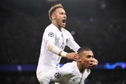 Neymar & Kylian Mbappe