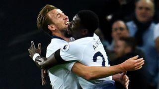 Harry Kane Serge Aurier Tottenham 2018-19