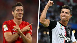 Robert Lewandowski Cristiano Ronaldo 2019-20