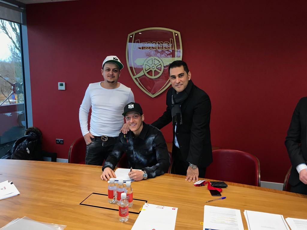 Mutlu Ozil, Mesut Ozil and Erkut Sogut