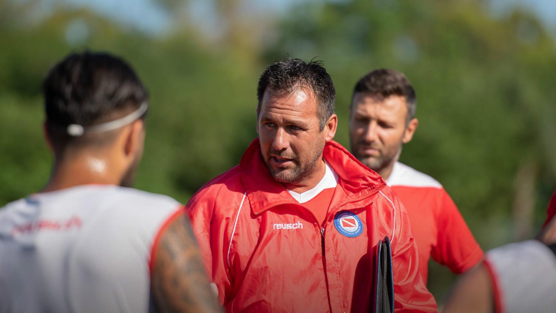 Diego Dabove Argentinos Juniors 2019