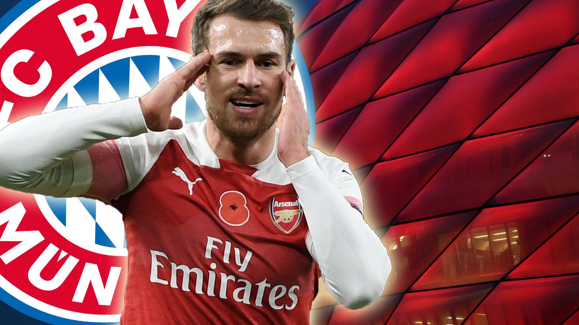 GFX Aaron Ramsey Bayern