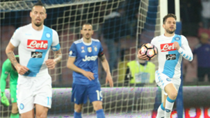 Marek Hamsik Dries Mertens Napoli Juventus