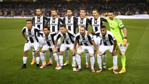 Juventus lineup Champions League final 03062017
