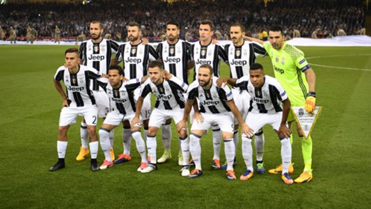 Juventus lineup Champions League final 03062017