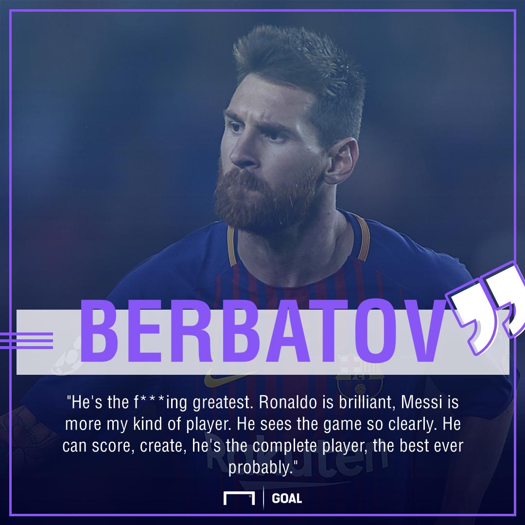 GFX Info Berbatov Ronaldo Messi