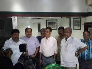 East Bengal and Mohun Bagan officials