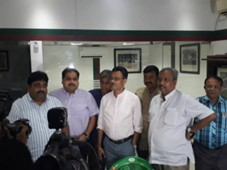 East Bengal and Mohun Bagan officials