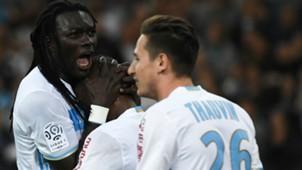 Bafetimbi Gomis Florian Thauvin Marseille Saint-Etienne Ligue 1 16042017