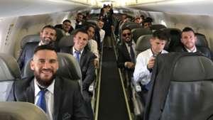 Delegação Grêmio a caminho mundial de clubes 06 12 17